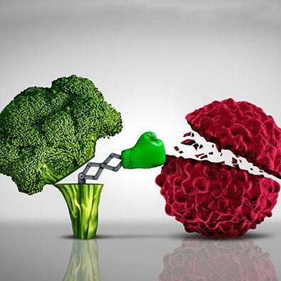 vegan fights cancer