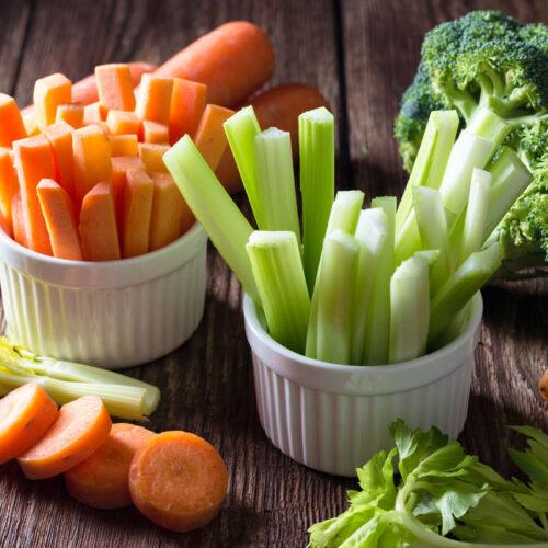 Veggie Sticks as a Healthy Snack