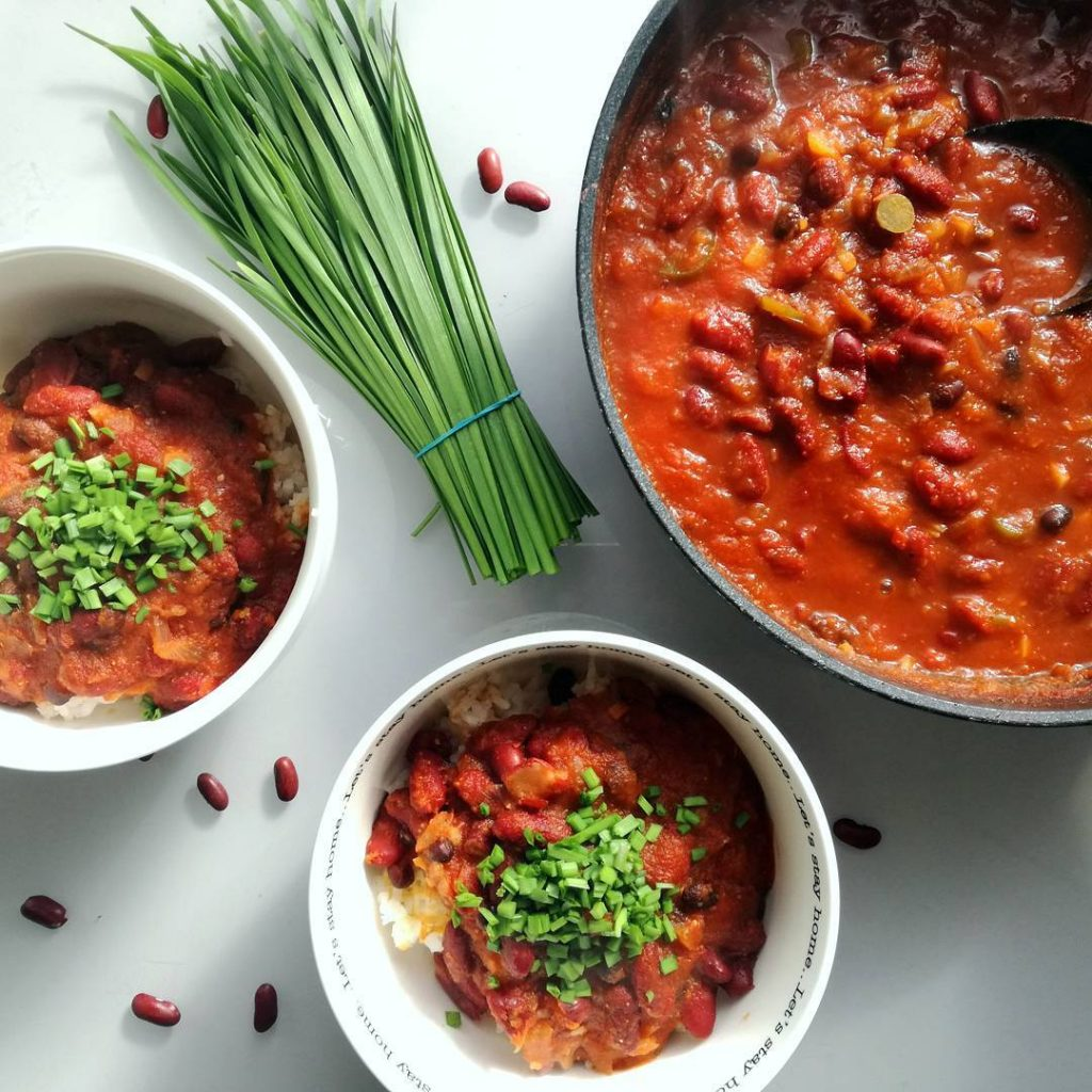 vegan chili by bar sidon