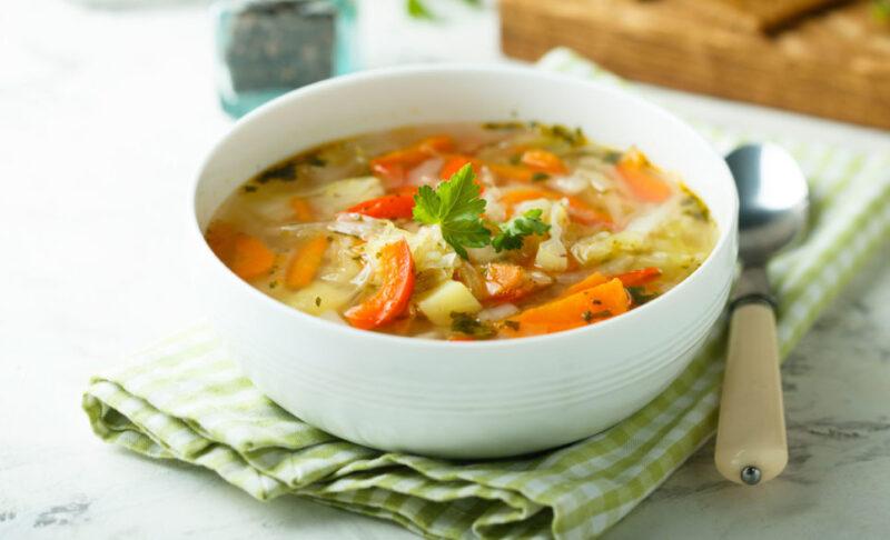 Homemade Vegetable Soup